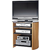 Light Oak Veneer TV Stand for screens up to 37 inch