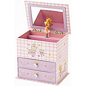 Asrtid Star Dust Princess Wood Jewellery Box