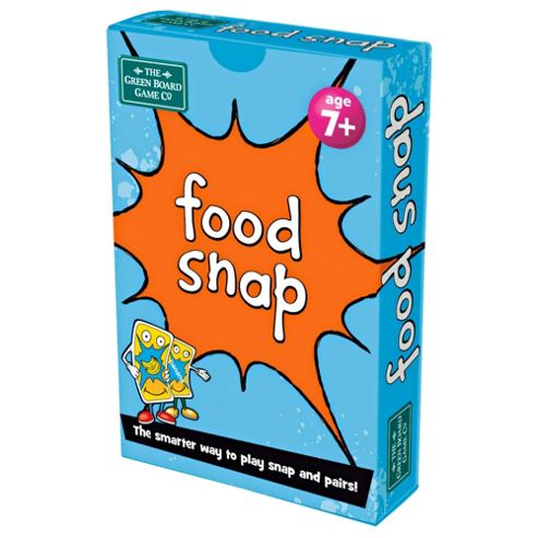 BrainBox Food Snap Card Game