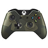 Xbox One Wireless Controller Green Camo Edition