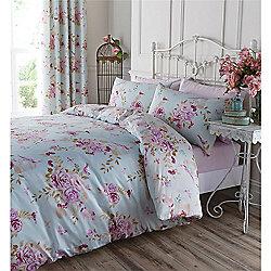 Catherine Lansfield Birdcage Blossom Duvet Cover Set - Double