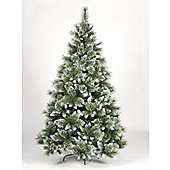 6ft Hudson's Bay Frosted Green Pine Artificial Christmas Tree