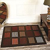 Element 5861 Brown/Orange 80x150 cm Rug