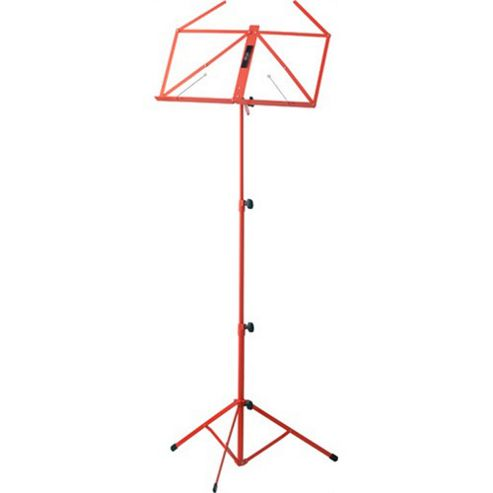Rocket MUS-A3 Collapsible Music Stand - Red