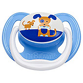 Dr Brown's Pacifier - Stage 1, 0-6 months, Blue Dog (1 pack)