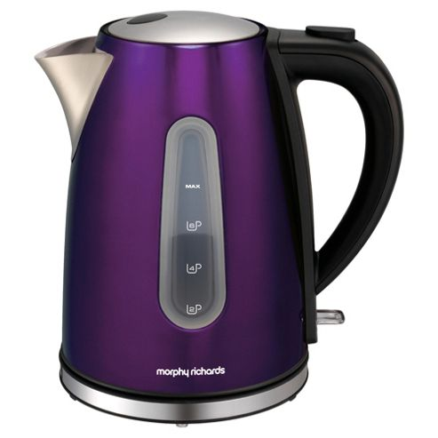 Morphy Richards 1.7L Accents Jug Kettle - Purple