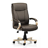 Maestro Randers High-Back Executive Chair - Brown
