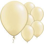 Ivory Balloons - 11' Pearl Latex Balloon (100pk)