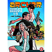 Archer Season 1-3 DVD