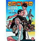 Archer Season 1-3 DVD