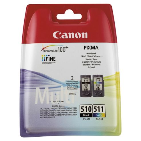 Canon PG-510/CL-511 Multi Pack printer Ink Cartridges