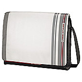 "Hama AHA Fog Laptop Messenger Bag for up to 15.6"" White"