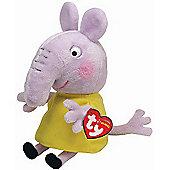 TY Peppa Pig & Friends Beanie Buddy Soft Toy - Emily Elephant