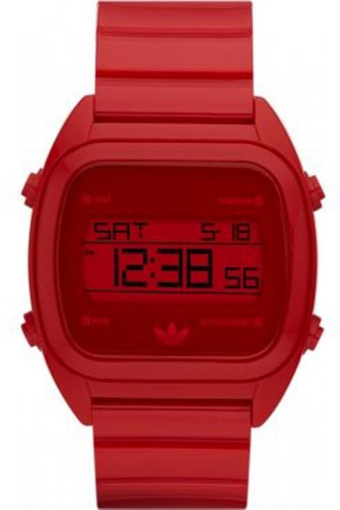 Adidas Gents Red Digital Resin Strap Watch ADH2729