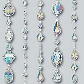 Crystal Jewels Wallpaper - Dove - 670800