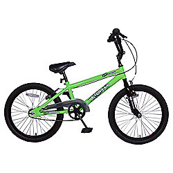 "Terrain Venom 20"" BMX Bike - Green"