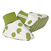 Pea print booties - Multi
