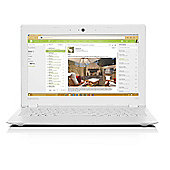 Lenovo Ideapad 100s, 11.6-inch Laptop, Intel Atom Quad Core, 2GB RAM, 32GB - White
