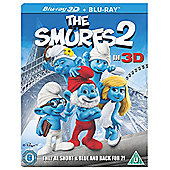The Smurfs 2 3D Blu Ray