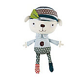 Mamas & Papas - Scrapbook - Soft Rattle Toy