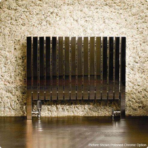 Aeon Ararat Stainless Steel Designer Radiator 660mm High x 490mm Wide