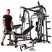 Marcy MD-9010G Deluxe Smith Machine With Weight Bench