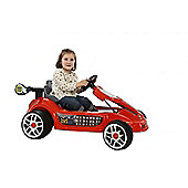 6V Go Kart Style Ride On Car Red