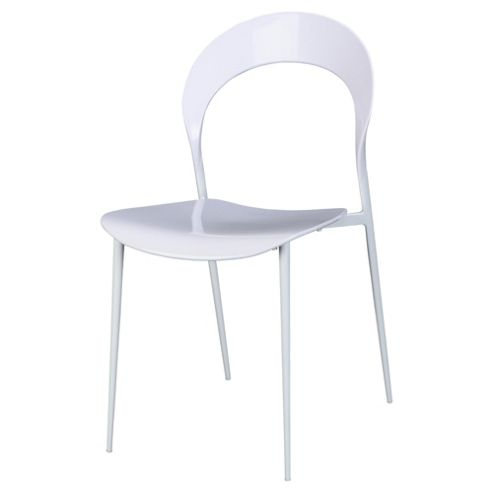 Exact 4 Pack Dining Chairs White