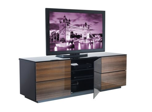 UK-CF City Scape London TV Stand - Walnut
