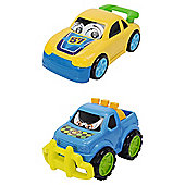 Happy Runner Car Twin Pack