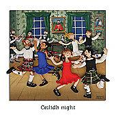 Holy Mackerel Ceilidh Night Greetings Card