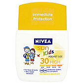 Nivea Childrens Pocket Size Spf30 50Ml