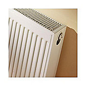 Barlo Compact Radiator 600mm High x 400mm Wide Double Panel Plus