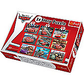 Disney Cars 9 Jigsaw Puzzle Sets - 30/40/60 Pieces