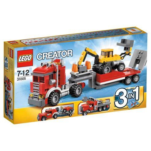 LEGO Creator Construction Hauler 31005