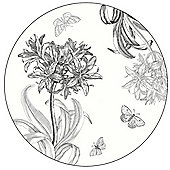 Pimpernel Agapanthus Round Placemats Set of 4