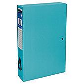 T. Foolscap Box File Blue