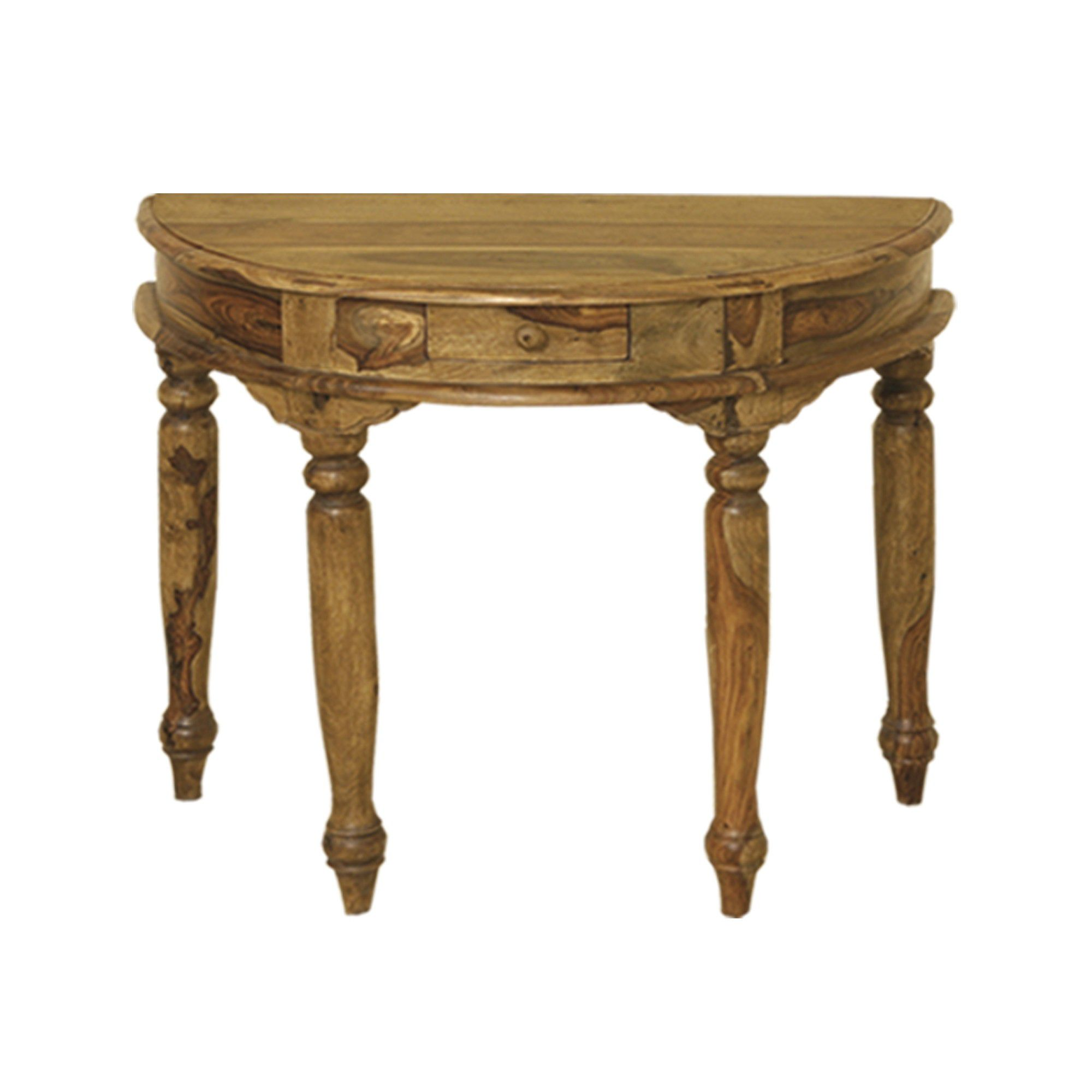 Elements Jaitu Half Round Hall Table
