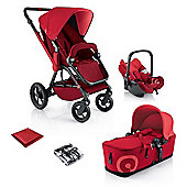 Concord Wanderer Mobility Travel System, Red