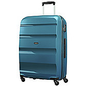 American Tourister Bon Air Hard Shell 4-Wheel Suitcase, Blue Large