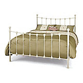 Marseilles Bed - Ivory Gloss - Small Double (4ft)