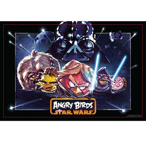Star Wars Angry Birds 150 Piece Super 3D Puzzle