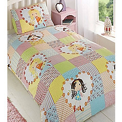 Fairy Patchwork Double Duvet