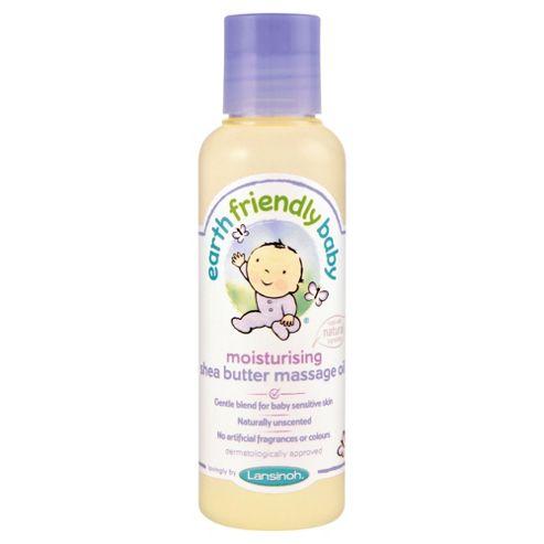 Earth Friendly Baby Moistng Shea Butter Massage Oil 125ML