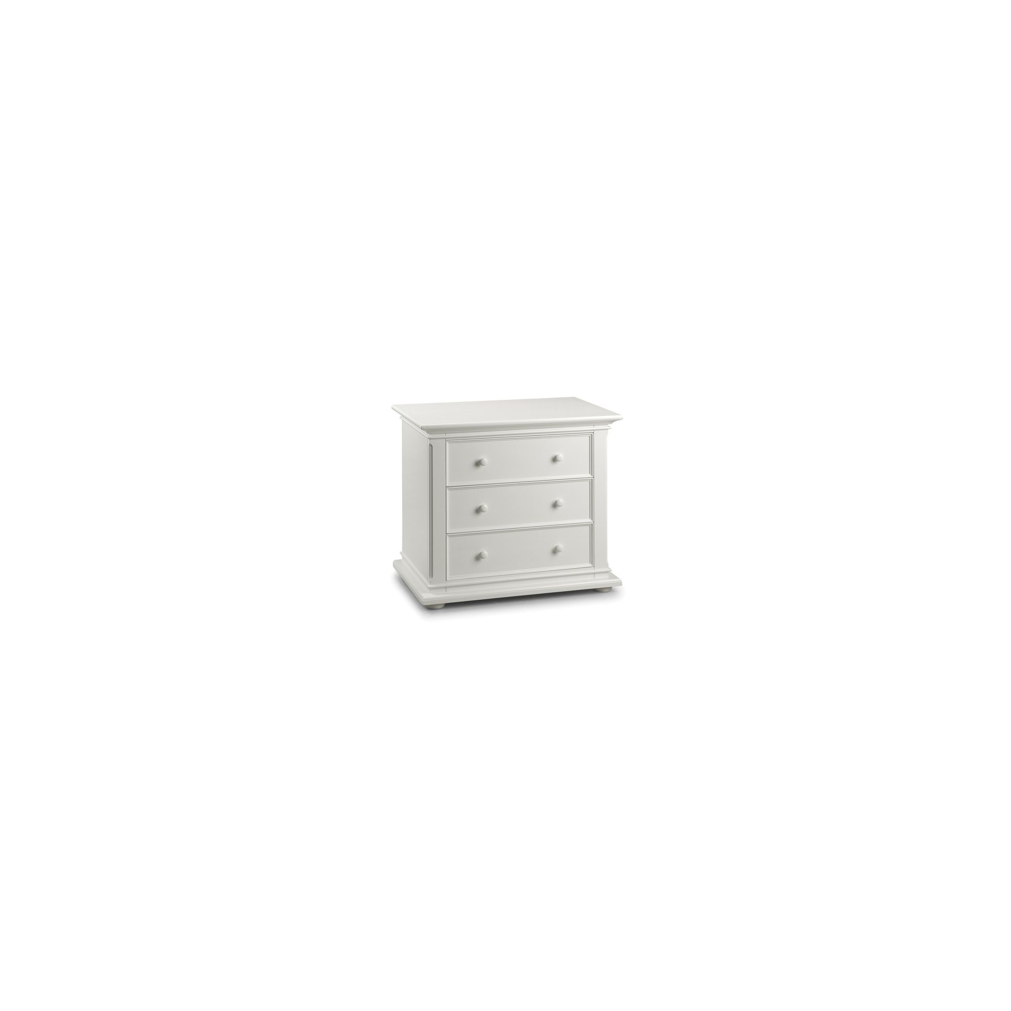 Julian Bowen Josephine 3 Drawer Chest in Off White at Tesco Direct