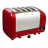 Dualit 4 Slot Vario Toaster - Red