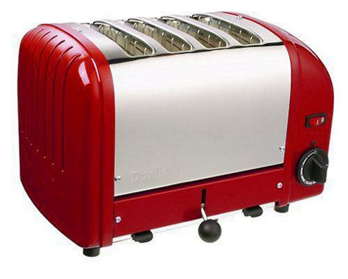 Dualit 40353 Vario 4 Slice Toaster - Red