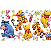 Winnie Wall Stickers - 100 Acre Wood