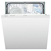 Indest DIF04B1 Full size Intergrated Dishwasher, A+ Energy Rating, White