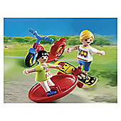 Playmobil 2 Kids with Toys